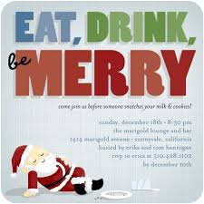Funny Christmas Party Invitation Wording Funny Lunch Invitation