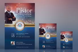 Flyer Poster Templates Pastor Appreciation Flyer Poster Template