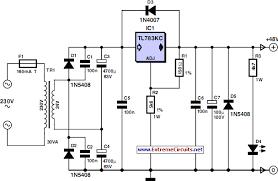designing a power supply creators corner ex isle forums 48 v microphone supply circuit diagram gif