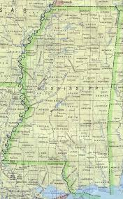 mississippi maps  perrycastañeda map collection  ut library online