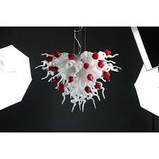 viz art glass mini valentine chandelier