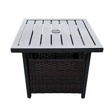 umbrella hole outdoor bistro tables