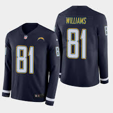 Sleeve - Therma Jersey Navy Rivers Long Men's Chargers Philip