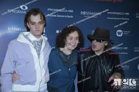 Udo LINDENBERG, Saenger, musician, actor Jan BUELOW, Bulow, director  Hermine HUNTGEBURTH, Stock Photo, Picture And Rights Managed Image. Pic.  PAH-128318442 | agefotostock