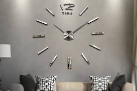 vivo 3d modern frameless wall clocks