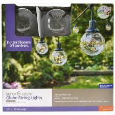 Chapter 12 Ft Led Heavy Duty String Lights Better Homes Gardens 12 Led Xl Globe String Lights 6