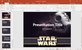 star trek powerpoint template free star wars powerpoint template