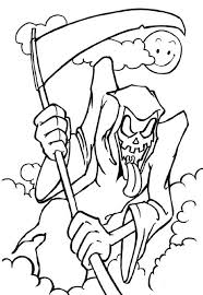 Scary Halloween Mask Coloring Pages Scary Halloween Coloring Pages