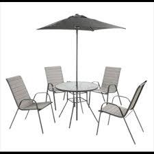 andorra metal 4 seater garden furniture