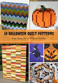 14 Halloween Quilt Patterns for a Wicked Holiday | FaveQuilts.com & 14 Halloween Quilt Patterns Free Ideas for a Wicked Holiday Adamdwight.com