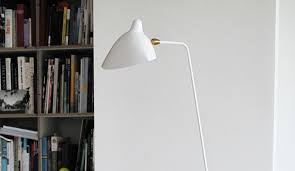 mouille lighting serge mouille floor lamp three arm