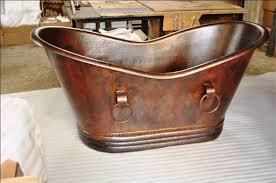 image of kohler copper bathtub