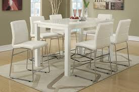 tall round dining room sets. Image Of: Bar Height Dining Table Set White Tall Round Room Sets R