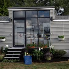 tiny houses in massachusetts. Chelsea And Jeff\u0027s 172 Square Foot Tiny House Has Floor To Ceiling Windows On One Side Houses In Massachusetts