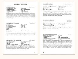 recipe book formats recipe format f15 morris press cookbooks
