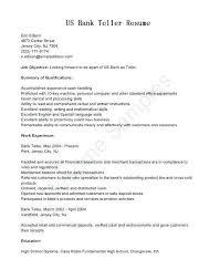 Skills And Ability Resumes Teller Resume Objective Joefitnessstore Com