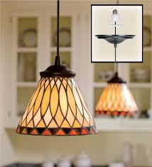Beautiful Main Image For Screw In Stained Glass Pendant Light Nice Ideas