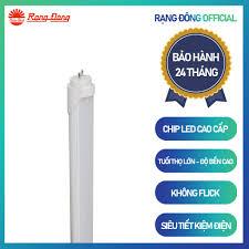 Mã INCU50 giảm 50k đơn 250k] Bộ đèn LED tuýp bán nguyệt Rạng Đông; chiều  dài 1,2m; đổi 3 màu ánh sáng