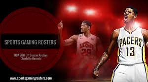 Nba 2k17 Depth Chart Nba 2k17 Off Season Rosters Charlotte Hornets Sports