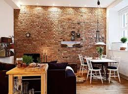 Innovative Ideas Brick Wall Design Cute 35 Give Your Home A Rustic Or  Industrial Touch With