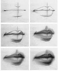 tutorial of drawing lips check it out if you re having problems drawing lips