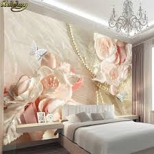 <b>beibehang Custom photo wallpaper</b> mural 3D mural romantic rose ...