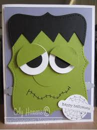 164 Best Stampin Up Halloween Punch Art Images On Pinterest Card Making Ideas For Halloween