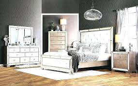Mirrored Headboard Bedroom Set Mirrored Bedroom Sets With Modern ...