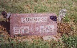 "Orain Livingston ""Ora"" Summers Sr. (1867-1962) - Find A Grave Memorial"