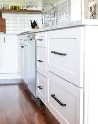 matte black cabinet pulls. White Kitchen Cabinets Matte Black Cabinet Pulls L