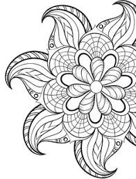 Small Picture 24 More Free Printable Adult Coloring Pages Flower colors Adult