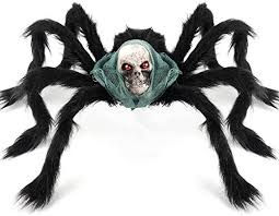 Coogam <b>Halloween Giant</b> Spider <b>Decoration</b>, Large Jumbo <b>Horror</b> ...