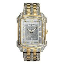 wittnauer yellow gold swarovski crystals bulova special men s wittnauer yellow gold swarovski crystals bulova special men s watch