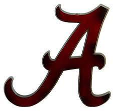 >alabama crimson tide metal works logo art 20x14 wall decor team   alabama crimson tide metal works logo art 20x14 wall decor