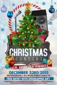 Christmas Concert Poster 12 300 Customizable Design Templates For Christmas Concert
