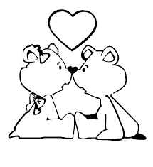 Small Picture Loving Bear Couple I Love You Coloring Pages Batch Coloring