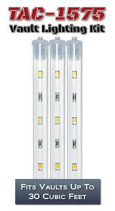 Battery Powered Lights For Gun Safes Usa Gun Safe Lighting Kits Light My Safe Vault Led Lights