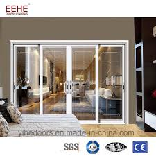 china insulated aluminum sliding door with exterior sliding glass door grill design china aluminium doors windows sliding glass door