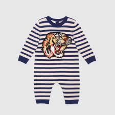 gucci onesie. baby tiger intarsia wool sleepsuit gucci onesie s