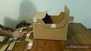 Cardboard Box Sled Design How To Make A Cardboard Sleigh Osc Mini Sleigh Childrens Race