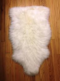 faux sheepskin rug ikea
