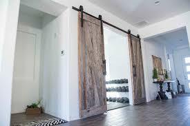 lovely ft sliding doors barnwood barn doors ft byp rustic sliding barn wood closet