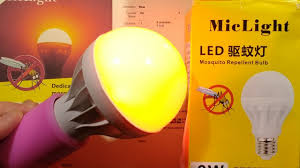 Yellow Lights And Bugs Anti Insect Led Lamp Non Zapping