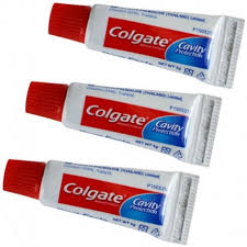 dentifrice mini tubes de dentifrice colgate lot de 3 tubes