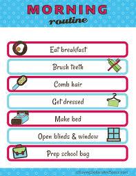Kids Daily Routine Charts Daily Routine Chart For Kids