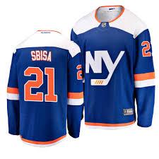 Islanders Sbisa Fanatics York Alternate Breakaway Blue Jersey New Luca