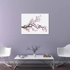 haochu fingerprint canvas painting diy branch flower guestbook creative craft handmade pretty picture house wall art party decor in painting calligraphy  on house wall art painting with haochu fingerprint canvas painting diy branch flower guestbook