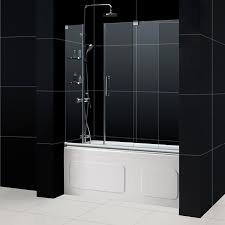 impressive modern sliding glass shower doors and custom frameless sliding shower doors tap