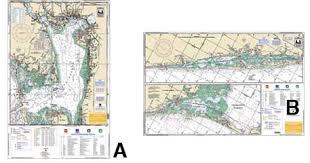 Noaa Chart 11425 Waterproof Inshore Fishing Chart Charlotte Harbor Lemon