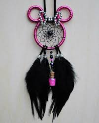Minnie Mouse Dream Catcher Awesome Hot Pink Minnie Mouse Dreamcatcher Dreamcatcher Stuffs Pinterest
